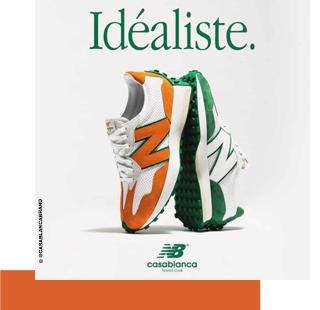 New Balance x Casablanca : une collab' électrique